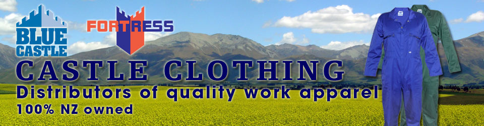 Castle Clothing NZ- Distributors of quality work apparel